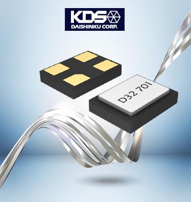 DSX1612S晶振,KDS新品问世,体积仅1.6*1.2mm