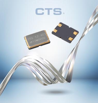 MODEL407晶振,贴片无源晶振,CTS晶振