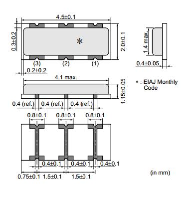 CSACW_X晶振,有源晶振,村田振荡器
