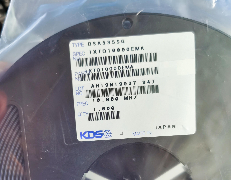 DSA535SG压控温补振荡器,VC-TCXO 19.2MHZ