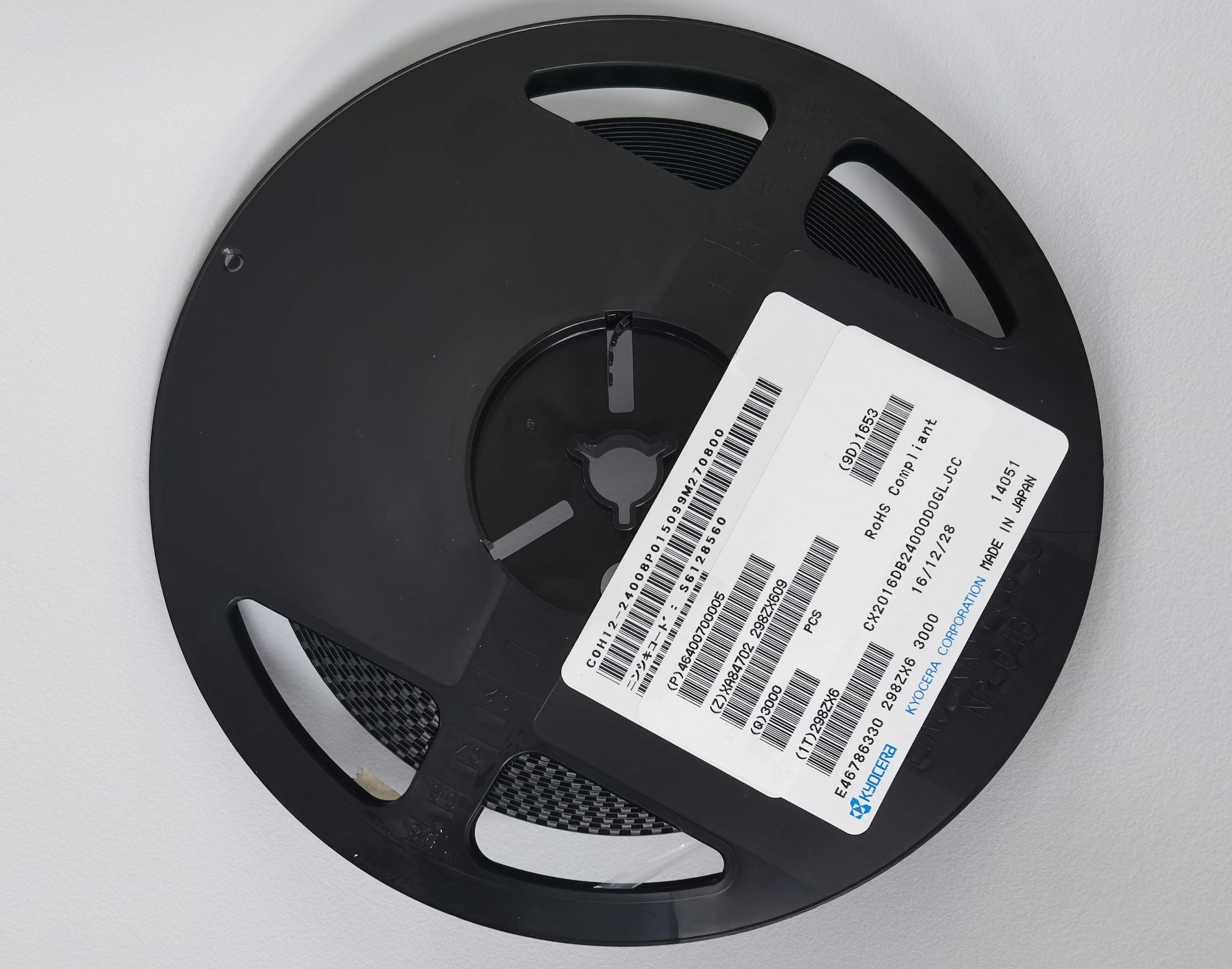 京瓷晶振,CX2016DB24000D0GLJCC